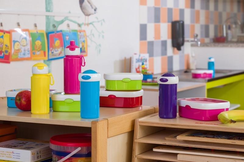 Rosti Mepal lunchboxen en schoolbekers
